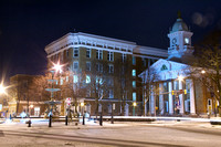 Wintry View of the Chambersburg Square