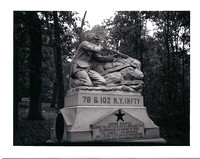 78th and 102nd New York Infantry Monument