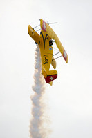 Jerry Wells taking his Pitts biplane vertical.