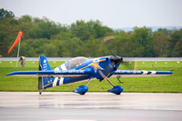 John Klatt taxiing his Panzl 330