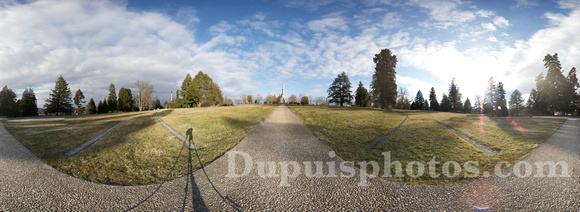 360 Degree Panorama of the Gettysburg National Cemetery