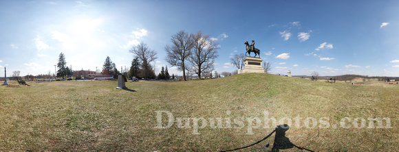 360 Degree Panorama of East Cemetery Hill